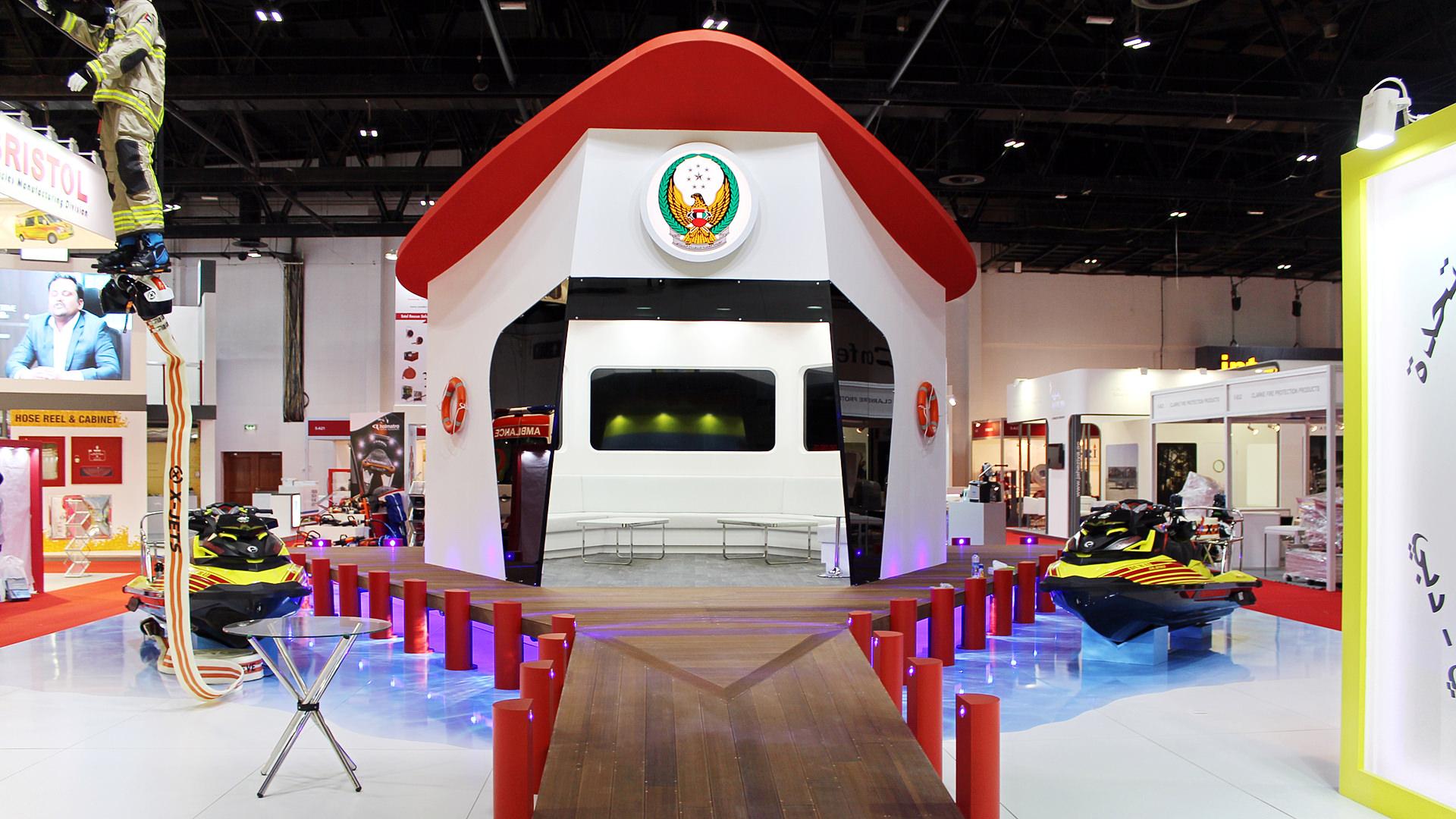 Dubai Civil Defense @ Intersec 2017