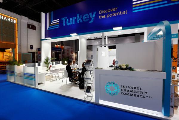 Turkish Pavilion, ICOC stand @ AutoMechanika 2019