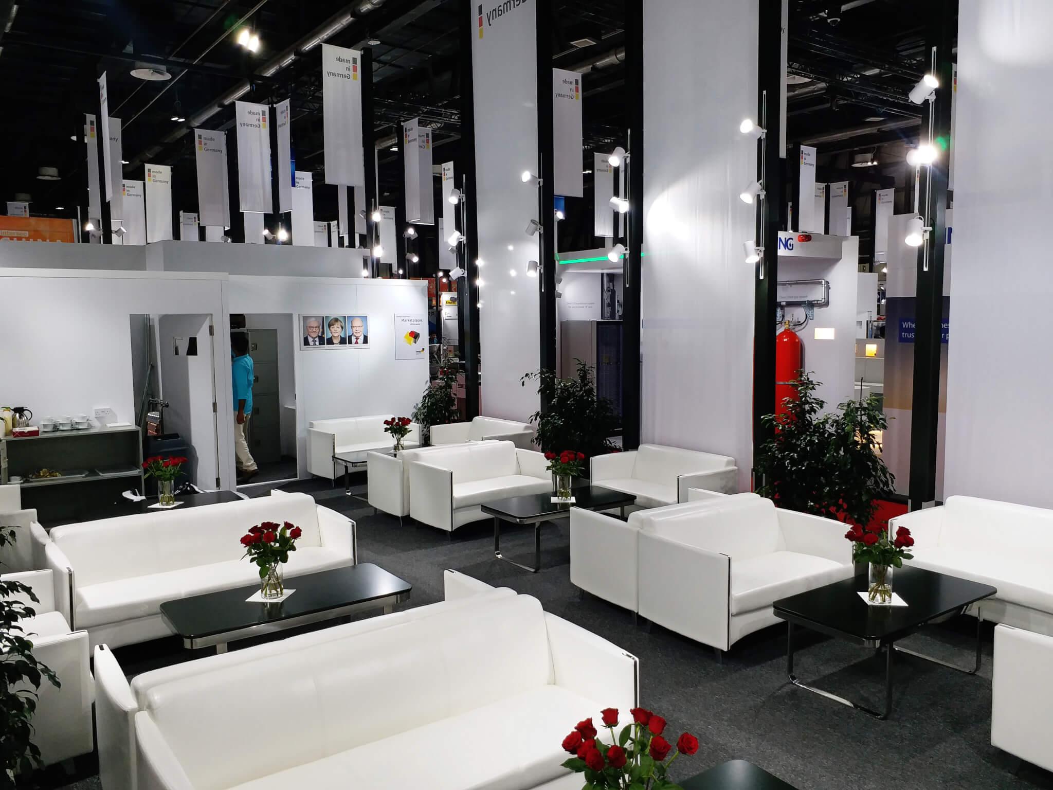 Germany Pavilion, Info Stand @ Intersec 2019