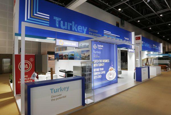 Turkish Pavilion @ Hotel Show 2019, 1890sqms