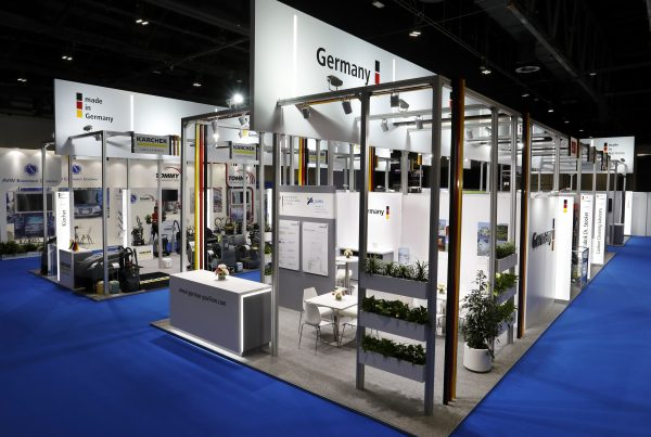 Germany Pavilion @ ME Cleaning 2019, 216sqms