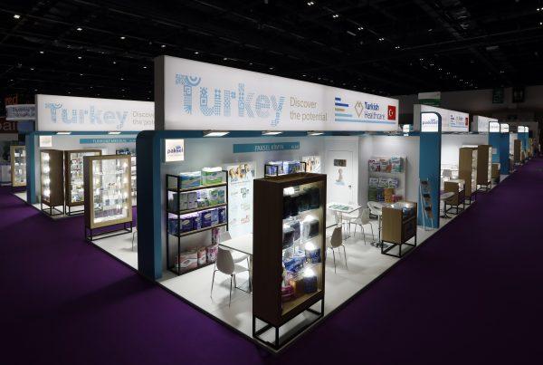 Turkish Pavilion @ Arab Health 2020, 1,221 sqms