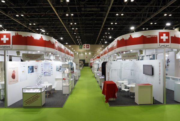 Swiss Pavilion @ Arab Health 2020, 396 sqms