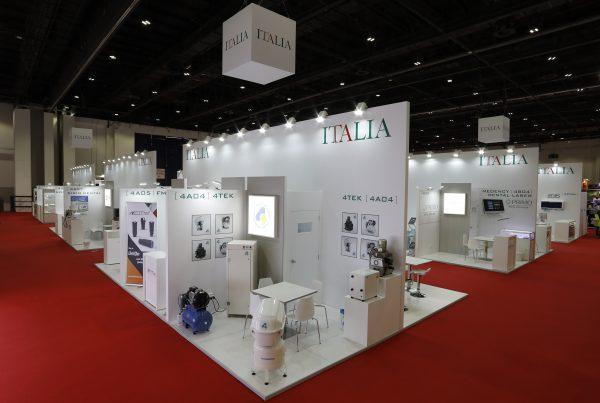 Italian Pavilion @ AEEDC 2020, 486sqms