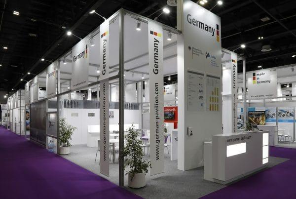 German Pavilion @ MEE 2020, 912sqms